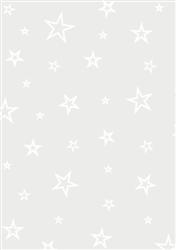 Vellum Star Outline - White